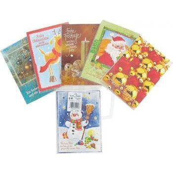 Weihnachts karten 4er Pack, Markenware, statt 1,99 - Weihnachtskarte - POSTEN