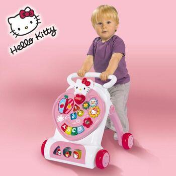 Hello Kitty Laufwagen mit vielen Funktionen Spielzeug Simba Neuware Lauflernhilfe Baby Posten Restposten