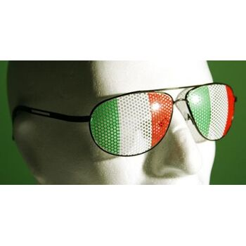 17-14185I, Metall Piloten Sonnenbrille \