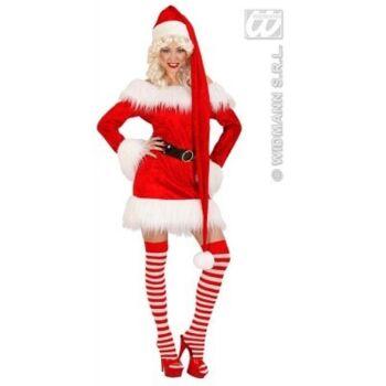 27-15387, Mütze Weihnachten extra lang 150cm Nikolausmütze