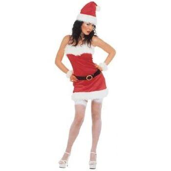 27-51825, Weihnachts Kostüm - Miss Santa, 5-teilig
