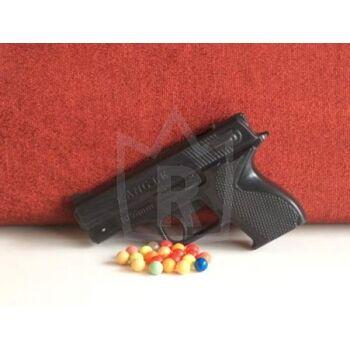 Softair Pistole mit bunter Munition, ab 3 Jahre, Erbsenpistole