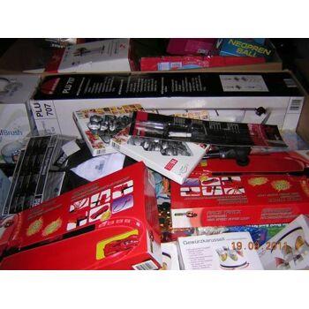 Restposten Sonderposten Mix-Paletten Haushaltswaren Elektronic Spielwaren Retoure super Ware