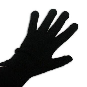 27-43576, Damenhandschuhe schwarz