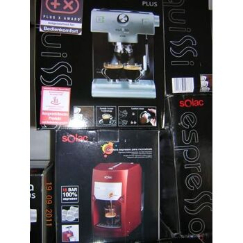 Sonderposten Restposten Posten MIX Palette Kaffeemaschnine Espressomaschine verschiedene Modelle Kaffeemaschinen Retoure