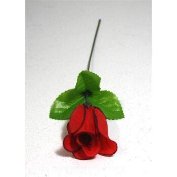 06-0777, Rosenknospe, 26cm, rot