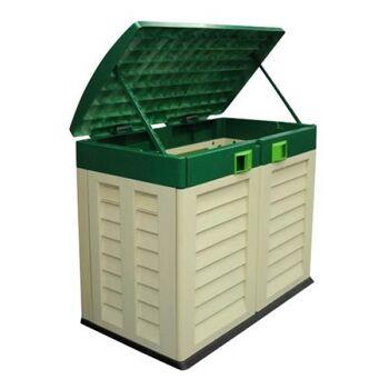 Restposten Posten Baumarkt Garten-Aufbewahrungsbox Mülltonnen Box
