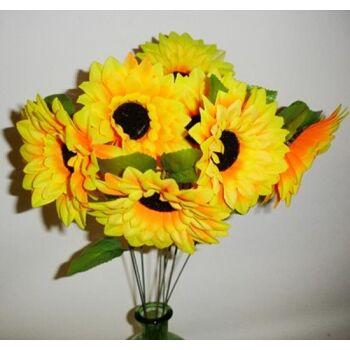 27-10027, Sonnenblumen, 20 cm, Herbst Deko für Tisch etc