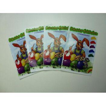 12-60075, Heitmann`s- Ostereier Malfarben, Kaltfarben 5er Pack, ideal für Kinder