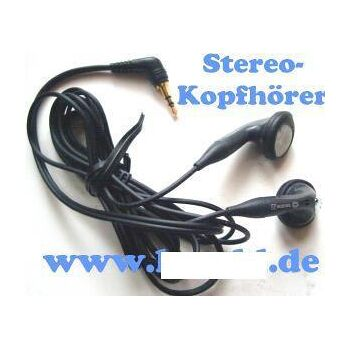 Original Sagem Marken Stereo Kopfhörer mit 2,5mm Klinkenstecker \
