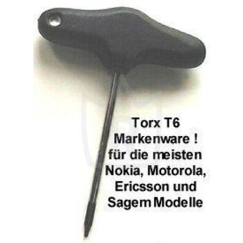 Torx T6 in Top Qualität ( Markenware )