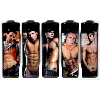 Feuerzeug Sexy Männermotive, Elektronik