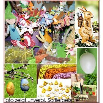 Frühjahr, Oster Sortiment, mindestens 100 Teile - ALLES NEUWAREN - HAMMERPREIS+++++++++