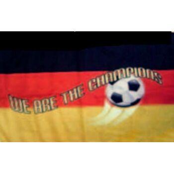 XXL FAHNE Flagge Deutschland Champions 150x250cm  zur Fussball WM