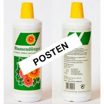 28-400307, Flüssigdünger 1000 ml, für Grün- und Blühpflanzen, SONDERPOSTEN