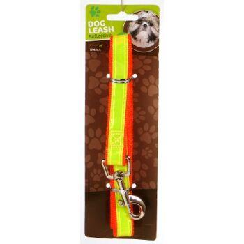 28-889493, Hundeleine 150cm, 2cm breit, mit Handschlaufe, Reflektor und Karabinerhaken