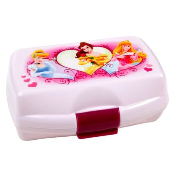 12-DP10990, Brotzeitdose Disney Princess, Butterbrotdose, Kindergarten, Shule, usw