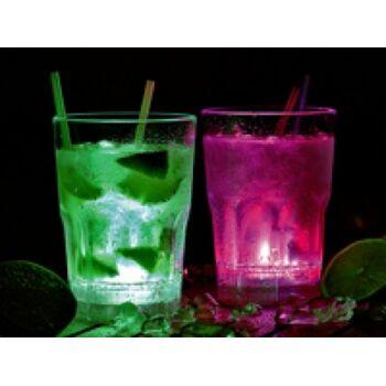 Lunartec LED Whiskey Longdrink Gläser 2er-Set