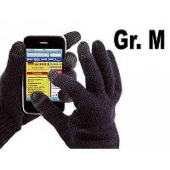 Pearl Touchscreen Handschuhe schwarz Gr. M