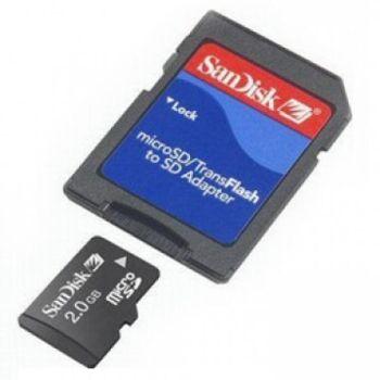 SanDisk 2GB MicroSD Speicherkarte