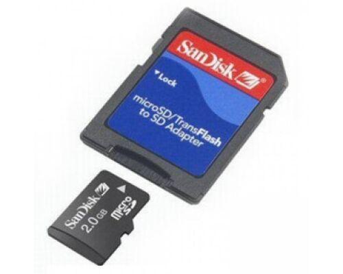 SanDisk ADAPTER von MicroSD auf SD