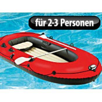 Speeron Komfort-Schlauchboot mit Pumpe & Paddeln für 2-3 Personen