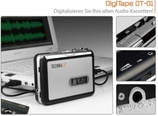 Technaxx DigiTape Kassettendigitalisierer