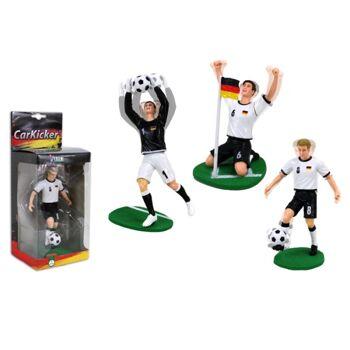 27-43306, Car Kicker Deutschland Fußball Auto Wackelfigur, TOP Geschenkartikel