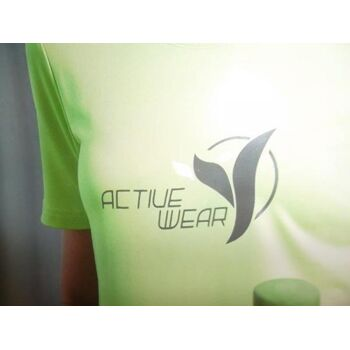 Damren Sport T-shirt Damen-Funktion T-shirt  mit Aufdruck