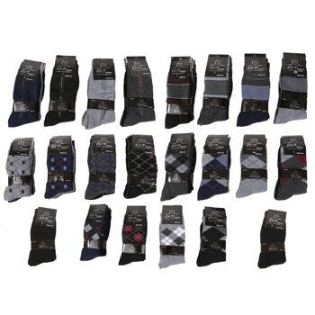 480 Paar Herren Men Business Socken Söckchen Socks versch. Modelle und Farben - Gr. 39-46 - nur 0,35 EUR