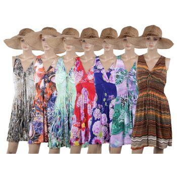 Gemischtes Paket von 30 Damen Blusen, Tunika´s, Shirt´s im modischem Hippie Look für nur 6,90 EUR