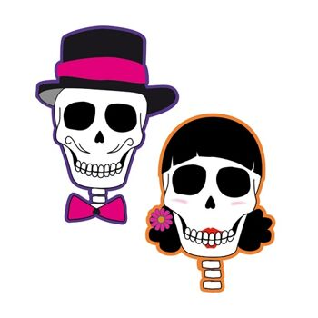 27-45011, grosse Wanddekoration Skull Party, Bikerparty, Mottoparty, Event, usw.