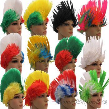 Perücke Fanartikel Scherzartikel Brasilien Ghana USA Italien Russland Deutschland viele Modelle zur Auswahl