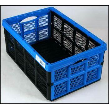 28-898778, Klappbox 32Liter, 50x33cm, Einkaufskorb, Aufbewahrungsbox, Wäschbox, Spielkiste, Einkaufskorb, usw.