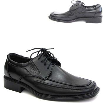 12 Paar Herren Business Schuhe City Schuhe Halbschuhe Slipper Schwarz nur 9,49 EUR je Paar