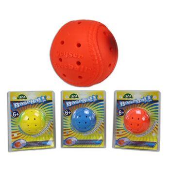 27-46040, LENA Wasser Baseball 10 cm, Beachball, Wasserball, Strandball, Spielball