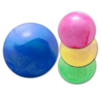 06-0741, Spielball 40cm, marmoriert, Wasserball, Strandball, Beachball, Fussball