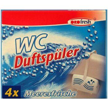 12-3014, Wc-Duftspüler 4er Pack Meeresbrise ORO Fresh