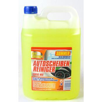28-200235, Autoscheibenreiniger 5Liter, Sommer, Fertigmix, reinigt ihre Windschutzscheibe von Insekten, Fett und Silikonverschmutzungen