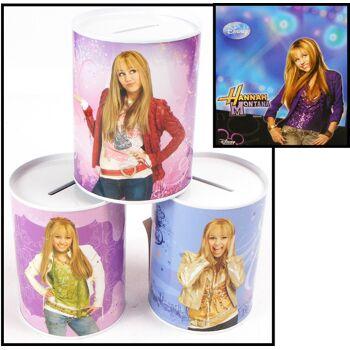 28-884639, Metall Spardose Hannah Montana