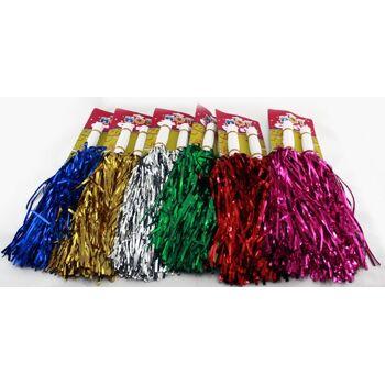 schwere dicke Cheerleader Pompons 2er Pack, Party, Karneval, Fetenhit, Event, Feier