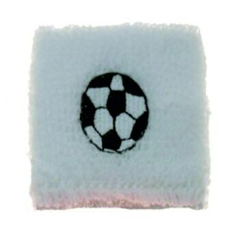10-684410, Fussball Schweißband, Textilband, Sportband, Frotteeband, Armband Party, Event, Stadion Publicviewing Fanmile, usw