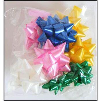 28-123451, Geschenkschleifen 10er Pack, Geschenkverpackung, Geschenkdekoration, Schleifenband