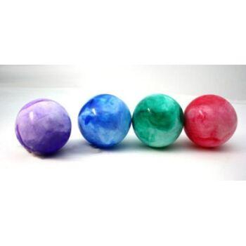 Aufblasball, marmoriert 10 cm, Spielball, Massageball, Wasserball, Strandball, Beachball