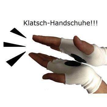 Clip-Clappers Klatsch Handschuhe mit Deutschland Fahne Gr. Uni