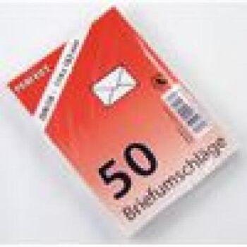 28-401115, Briefumschlag 50er Pack, C6 weiß, 114 x 162mm