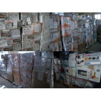 Haushaltsgeräte 18 Pal. Staubsauger, Umluftoffen, Bügelstation usw. Wahrenhaus Rückgabe Geräte