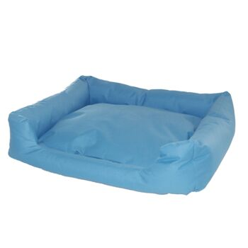 Hundebett TB5022L blau Hundekorb Hundekissen Hundesofa Tierbett Katzenbett