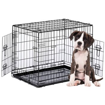 Hundekäfig HK-XL Transportkäfig Drahtkäfig Transportbox Käfig Hundebox faltbar