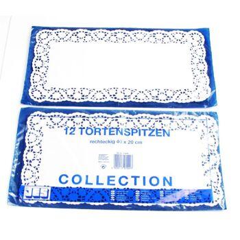 28-179903, Tortenspitze 40x20cm, 12er Pack